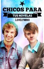 Chicos para tus novelas. by -lovelyminx