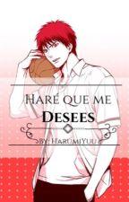 Haré que me desees (Taiga Kagami X Lectora) LEMON by HarumiYuu