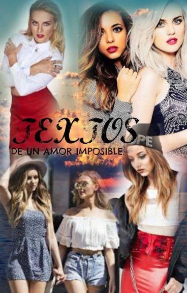 Textos De Un Amor Imposible ||Jerrie T. || +18 ||