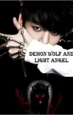 Demon Wolf and Light Angel by Taega99