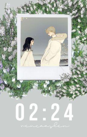 02:24. midorima shintarou. by vencaslen