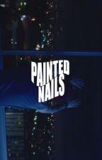 painted nails ❃ muke by mukeyhemmo