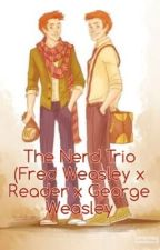 The Nerd Trio (Fred Weasley x Reader x George Reader) Modern AU by pPhantoMm