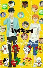 HAIKYUU!! LINE by LucyConejita