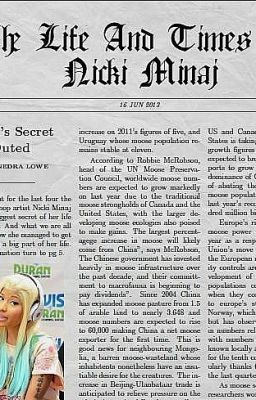 The Life And Times Of Nicki Minaj (fanfic)