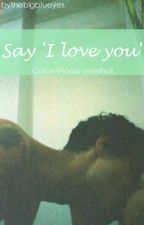 "Say ""I Love You"" • C.H oneshot by thebigblueyes"