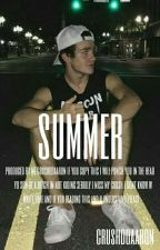 Summer// Aaron Carpenter  by crushdoaaron