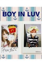 BOY IN LUV - Suga and Chorong Story. by 98line_