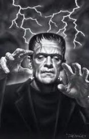 Frankenstein and Sparky a Wonderful Friendship by SamanthaReeves544