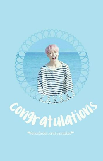 Congratulations ❀ {p. jimin} [Book #1]