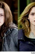 Hermione and Bella Granger ( Harry Potter and Twilight crossover ) by LukeyHemmings04