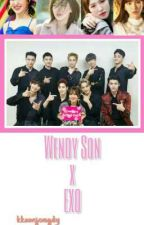 Wendy Son × EXO by milkywhiteWH