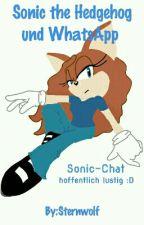 Sonic the Hedgehog und WhatsApp by Sternwolf