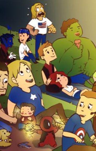 Avengers X Teen!Reader
