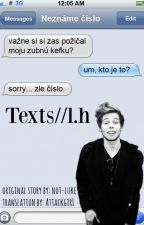 Texts/ / l.h. (SK) ✓ by AttackgirL