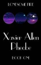 Xavier Alan Phoebe  by Lonesome_Fire
