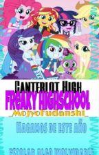 """Canterlot High: Freaky School"" by _MojyoFudanshi_"
