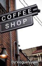 Coffee Shop Arrangement by voguelyy