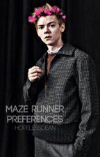 Maze Runner Preferences by hopelessdean