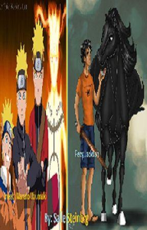Percy Jackson meets Naruto Uzumaki (book 1) - Percy Jackson meets
