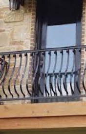 The Balcony by MaroonInk