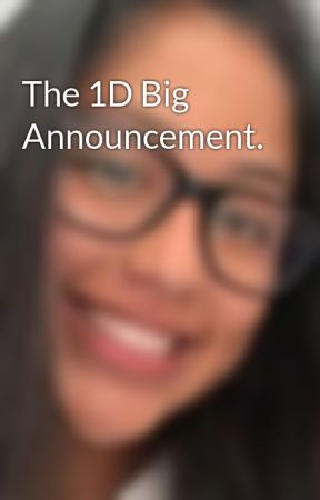 The 1D Big Announcement. by iStylesArmy