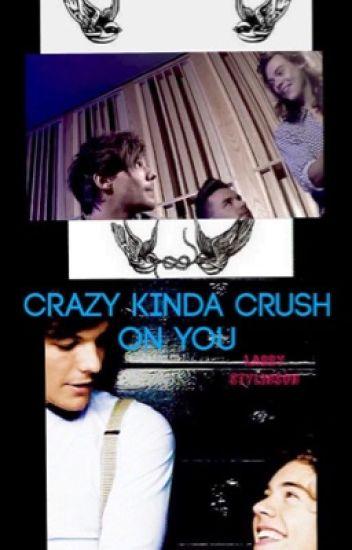 Crazy kinda crush on you.   • L.S. •
