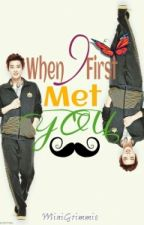 When I First Met you (EXO Chanyeol fanfic) by MiniGRIMMIE