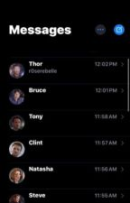 The Avengers Text                                by Sadiep101