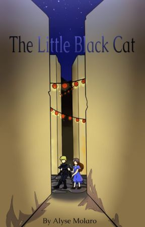 The Little Black Cat: Flickering Shadows by Icetail37