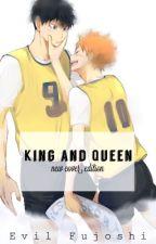 King and queen (Kagehina) [boy x boy] by evilninjafujoshi