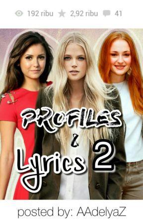 Profiles Lyrics 2 67 Drop That Ost Game Shakers Wattpad