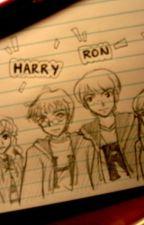 Harry, Ron i Hermiona - Historia Przyjaciół by KarolinaMyrcik
