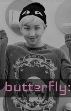 butterfly: [kim namjoon] by windrises