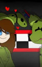 My little green monster~Springtrap x Reader~ by Young_Dreamer19