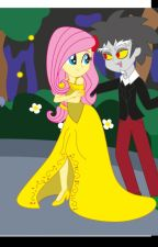 The love of fluttershy and discord by EmeliaGN