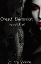 Orașul Demonilor: Începuturi by AnyAdelina