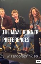 The Maze Runner Preferences by wizardofsprinkles