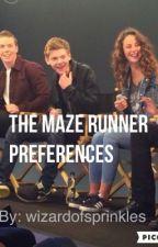 The Maze Runner Preferences by wizardofsprinkles