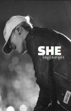 SHE [BTS Suga] by danikoh