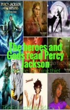 The gods and heroes read Percy Jackson and the lightning thief (On hold) by TheErkinshires