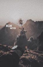 KIK // Min Yoongi by keeeywee