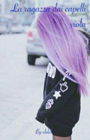 canzone ragazza capelli viola
