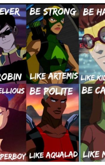 Young Justice Short Stories