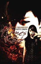 Infinite Dawn : Flames on a rose [VAMPIRE] by theclairearevalo