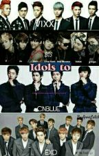 KPOP IDOLS TO ... WHAT?! by Anne_Lutch