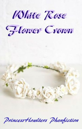 White Rose Flower Crown (Phan)