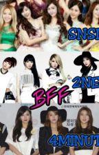 BFF (2NE1,4MINUTE&SNSD) by hidayatulNabila