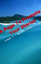 A Page To Promote Your Stories by ScarySan