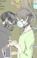 Hospital Ghoul (Ereri) Tokyo Ghoul Cross over by _BlueGoo_